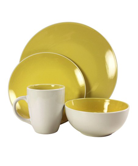 Yellow Sunnyvale Dinnerware Set