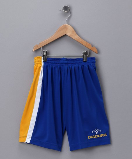Royal &amp; Gold Serie A Shorts - Kids &amp; Men