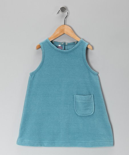 Adriatic Blue Fleece Jumper - Toddler & Girls