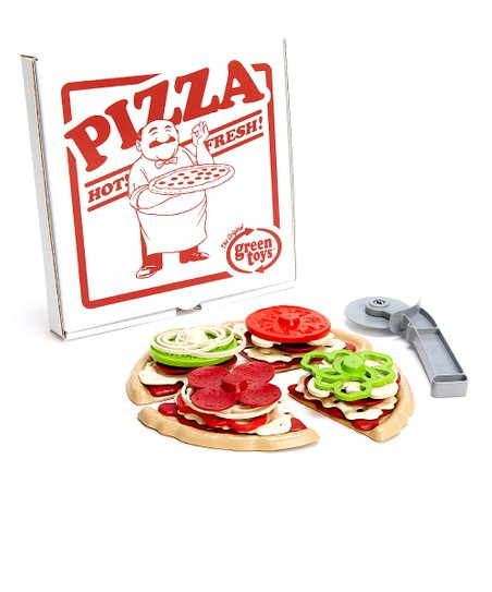 Recycled Pizza Parlor Set