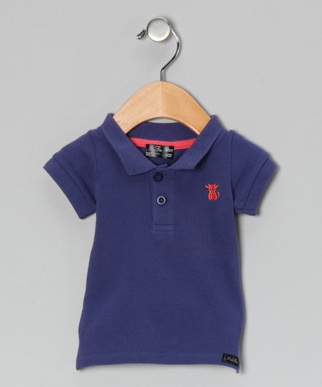 Blue Bull Polo - Infant, Toddler & Boys