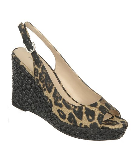 Brown Leopard Rory Espadrille