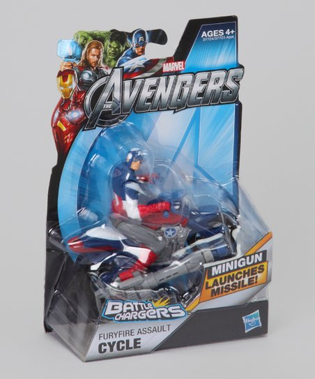 Avengers Battle Chargers Furyfire Assault Cycle