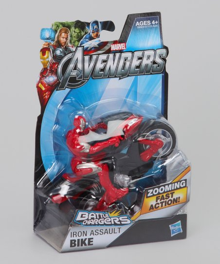 Avengers Battle Chargers Iron Assault Bike
