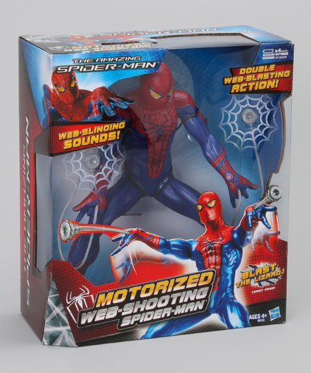 Spider-Man Motorized Shooting Blaster