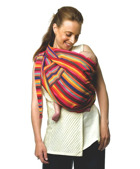 Simply Good Red & Orange Stripe Snugly Sling