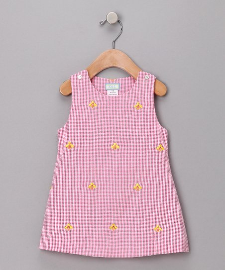 Pink Bumblebee Jumper - Girls