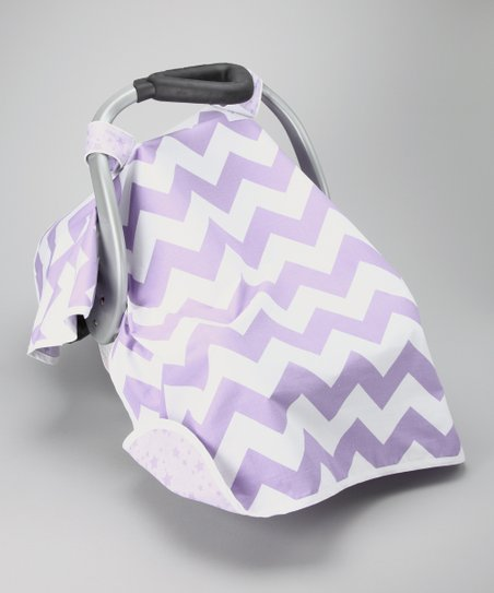 Crazy Purple Car Seat Canopy