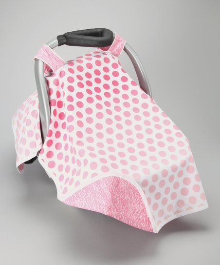 Pink Growing Car Seat Canopy