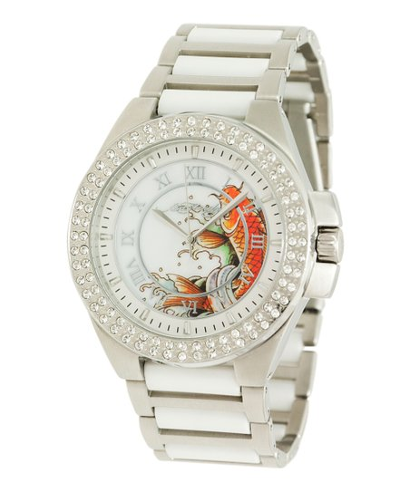 White Koi Princess Watch
