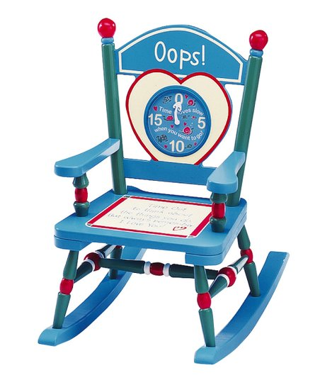 Blue Time-Out Mini Rocker