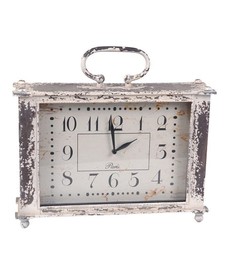 Metal Handle Clock