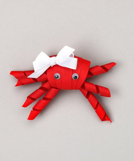 Red Crab Clip