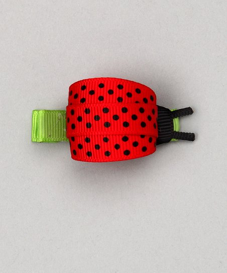 Red Ladybug Clip