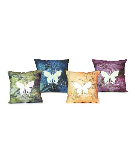Butterfly Pillow Set