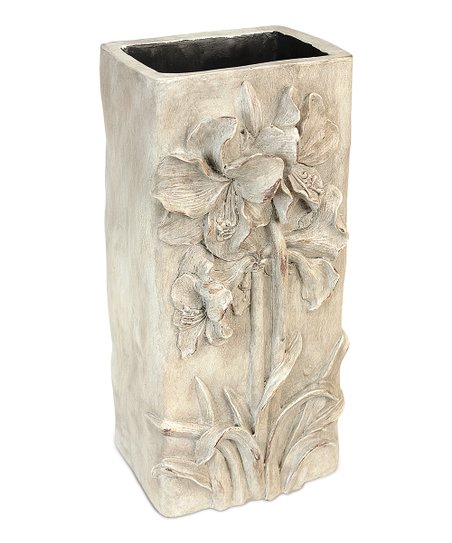 Ivory &amp; Gray Flower Vase