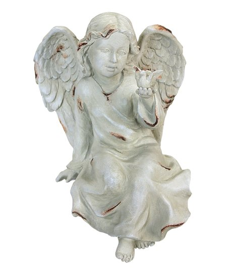 Sitting Angel Figurine