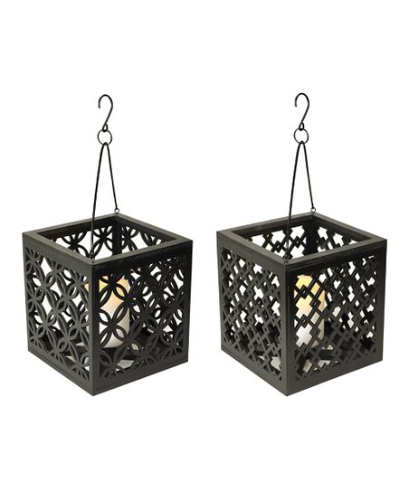 Black Box Lantern - Set of Two