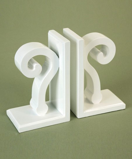Question Mark Bookends
