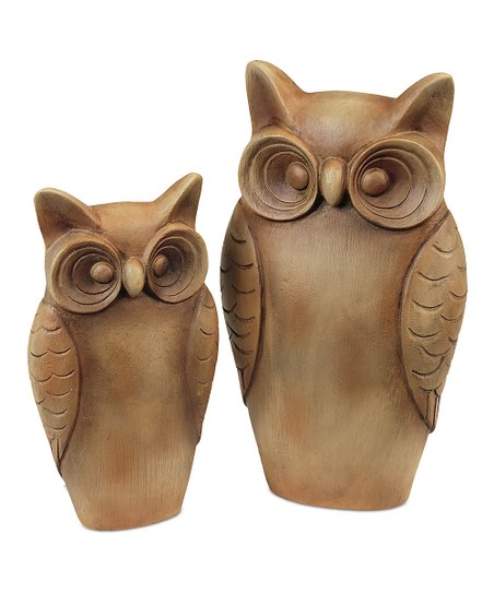 Owl Figurine Set