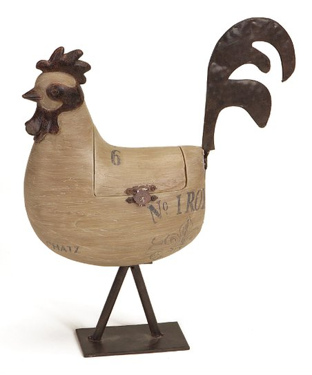 Rooster Hinged Box