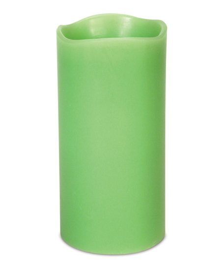 Lime LED Candle