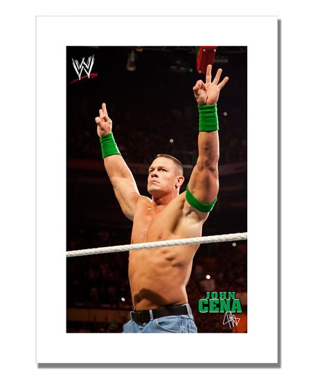 19'' John Cena Victory Canvas Art