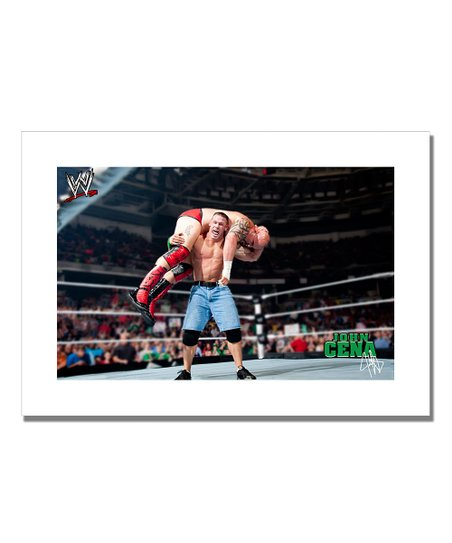 19'' John Cena Lift Canvas Art