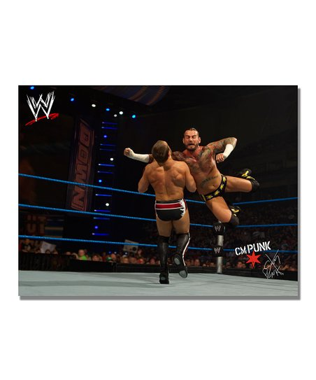 32'' CM Punk Flying Clothesline Gallery-Wrapped Canvas