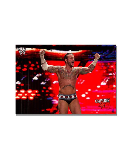 24'' CM Punk Victory Gallery-Wrapped Canvas