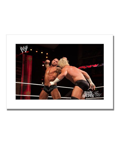 19'' Randy Orton The Haymaker Canvas Art