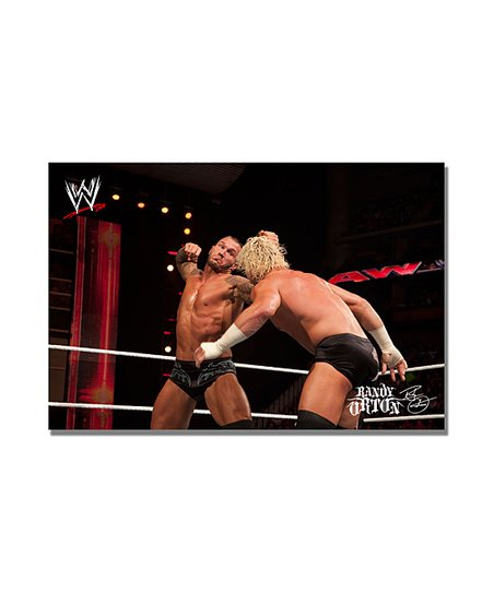 24&#039;&#039; Randy Orton The Haymaker Gallery-Wrapped Canvas