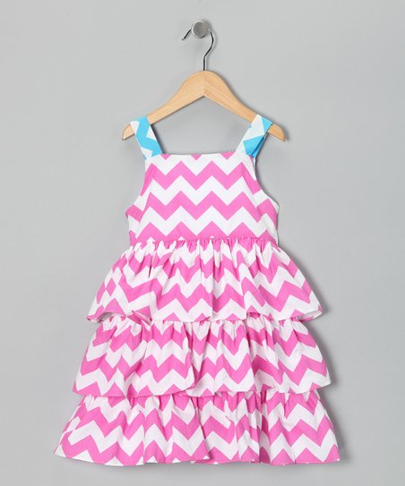Pink Abigail Ruffle Dress - Infant, Toddler & Girls