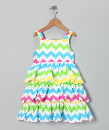 Green Kasey Ruffle Dress - Infant & Toddler
