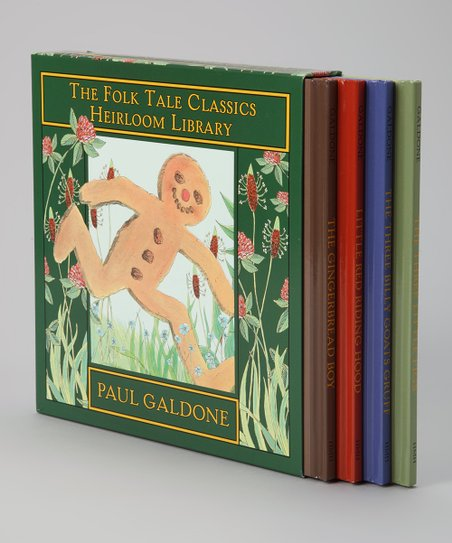 Folk Tale Classics Heirloom Library Box Set