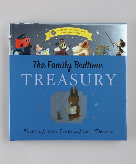 Family Bedtime Treasury Hardcover & CD Set