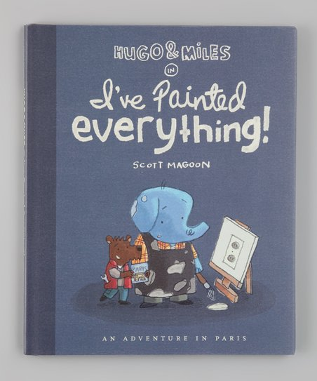 Hugo and Miles in I've Painted Everything Hardcover
