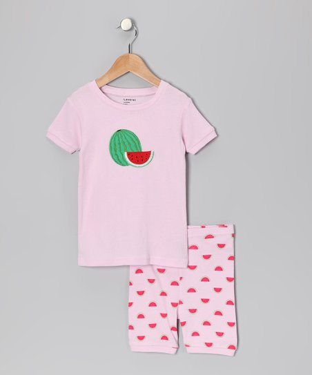 Pink Watermelon Pajama Set - Infant, Toddler & Kids