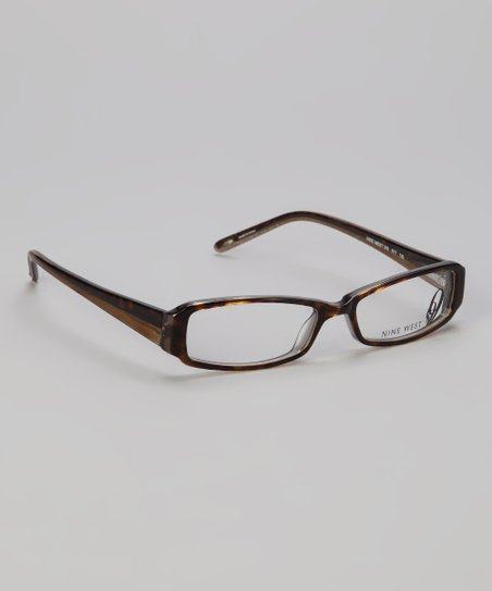 Dark Tortoise Striated Glasses