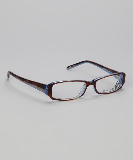Brown Tortoise Striated Glasses