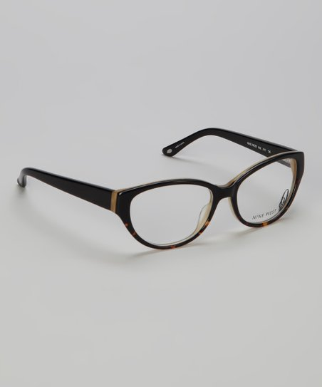 Black Tortoise Cat-Eye Glasses