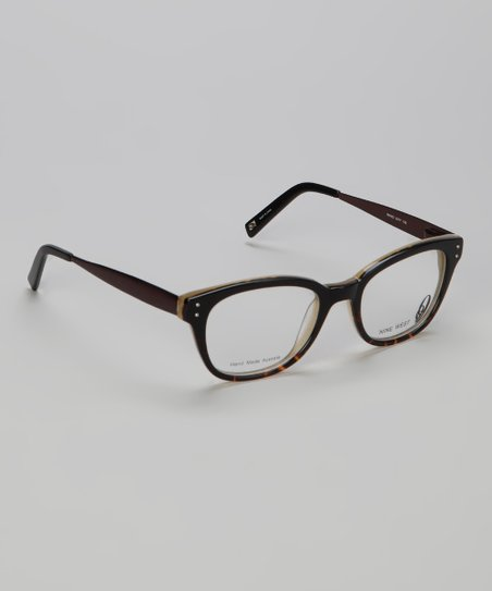 Black Tortoise Round Glasses