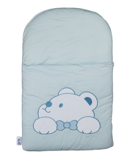 Blue Plushy Paws Nap Mat