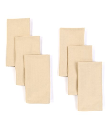 Vanilla Napkin - Set of Six