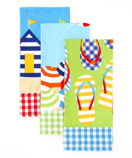 Beachside Dish Towel Set