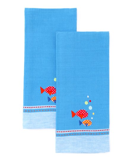 Fish Dish Towel - Set of Two