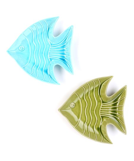 Fish Ceramic Platter Set