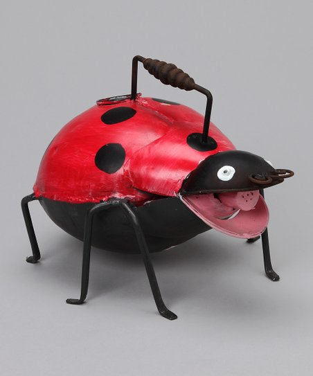 Red Ladybug Watering Can