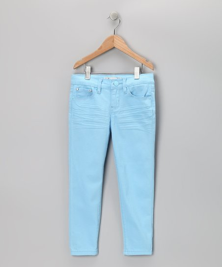 Powder Blue Skinny Jeans