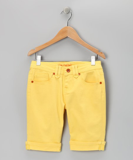 Pineapple Bermuda Shorts